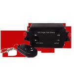Atenuador dimmer de 1 canal ideal para tiras, lámparas o dispositivos led que operen a 12 volt.