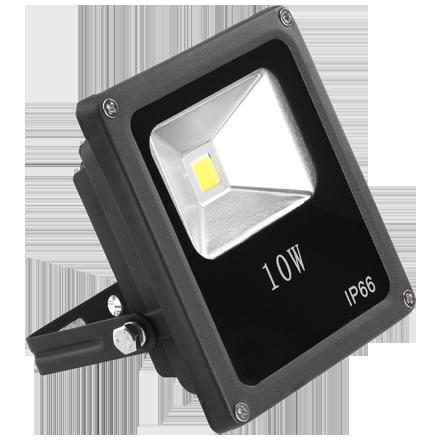 Reflector LED 10 Watts para exterior